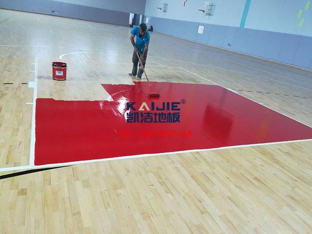 如何避开体育馆木地板的错误保养——凯洁地板