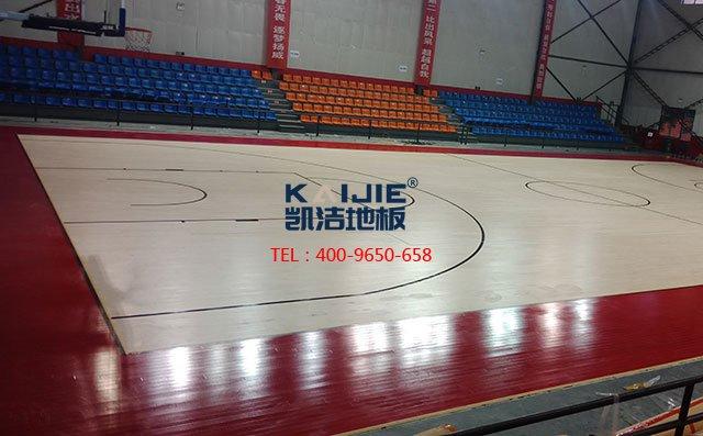 含水率不合格,体育运动木地板就废了——凯洁地板