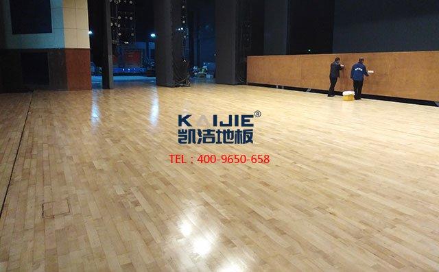 体育馆木地板铺装,这三个细节必须处理好——凯洁地板