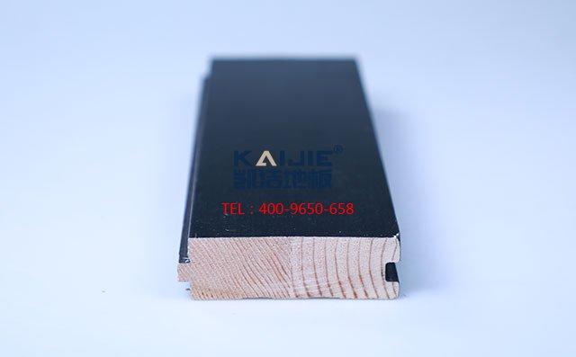 松木黑色板舞台木地板——凯洁地板