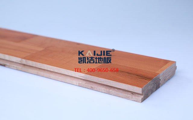 枫桦木B级双拼板运动木地板——凯洁地板