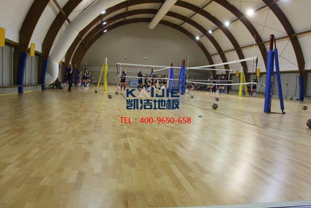 体育馆运动木地板为什么这样好——凯洁地板