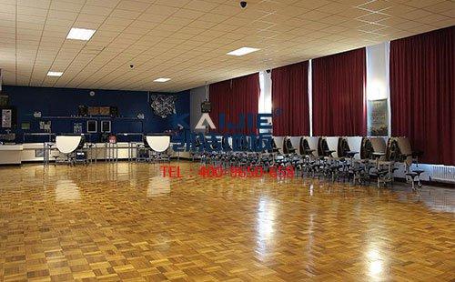 凯洁地板厂家舞蹈木地板产品——松木舞蹈地板