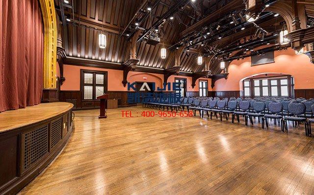 实力打造专业舞台木地板,青少年节术节开锣喽——凯洁地板