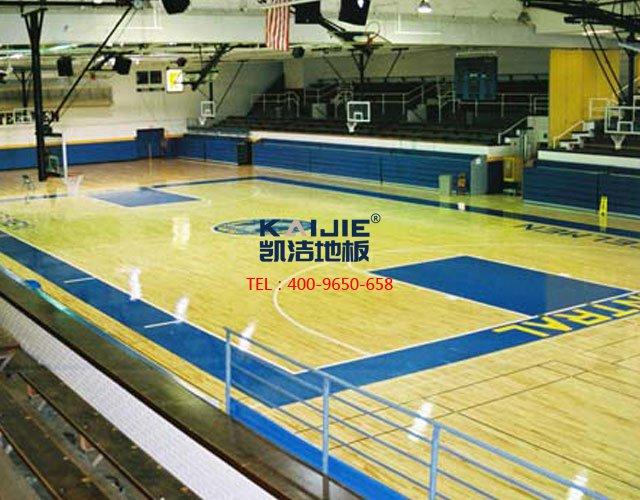 体育馆运动木地板色差,原来是这么来的——凯洁地板
