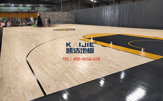 体育运动木地板的安装龙骨结构里都有啥——凯洁地板