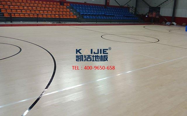 体育木地板防潮干燥工艺,不是谁都会做——凯洁地板