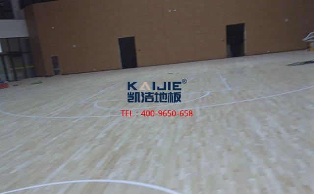 「凯洁地板」自主掌控体育木地板色差的科学方法——凯洁地板