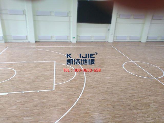 专业体育馆木地板的铺装前需要准备什么——凯洁地板