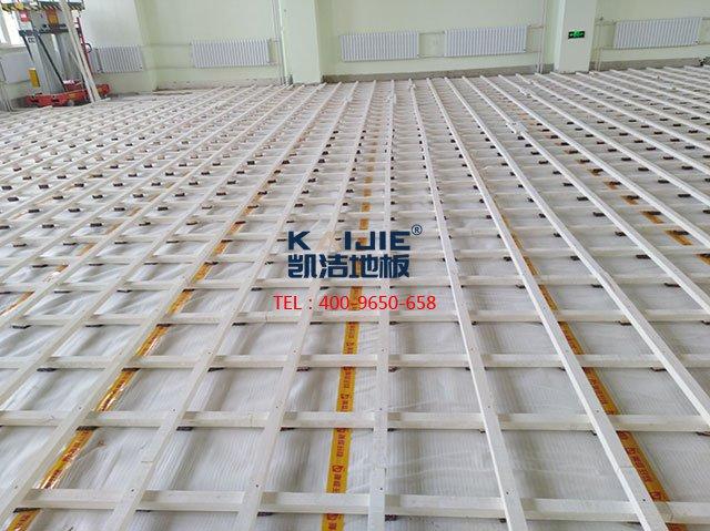 专业体育馆木地板的铺装前需要准备什么-凯洁地板