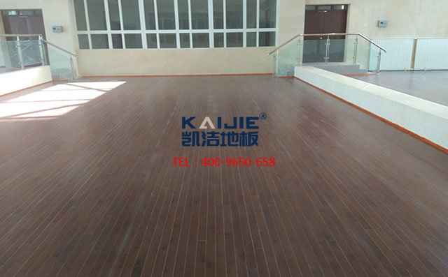 不是所有的木地板都是专业体育木地板——凯洁地板