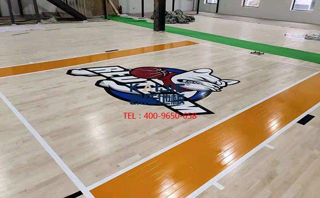 北京朝阳区祈园文化创意小镇篮球馆木地板案例——凯洁地板