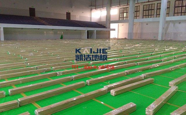 专业体育木地板安装需要注意这些地方——凯洁地板