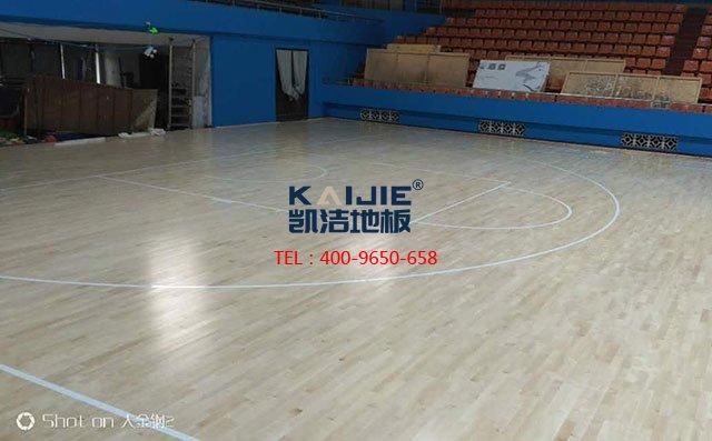 体育木要地板价格一平方米多少钱?——凯洁地板