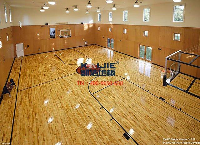 体育馆木地板翻新条件是什么——凯洁地板