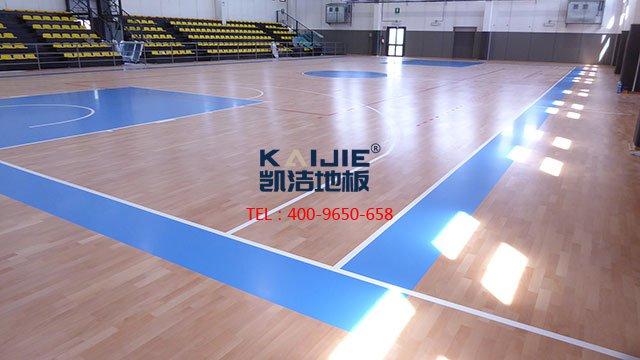 体育木地板安装,必须做到这些事——凯洁地板