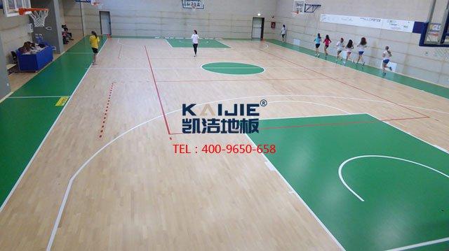 体育木地板厂家的标准施工流程——凯洁地板