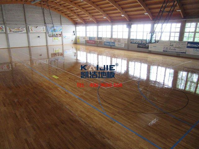 NBA篮球场木地板用的是哪家品牌的体育地板?——篮球场木地板