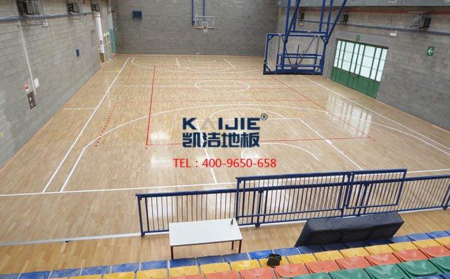 体育馆木地板施工之前要做好哪些准备——篮球馆木地板
