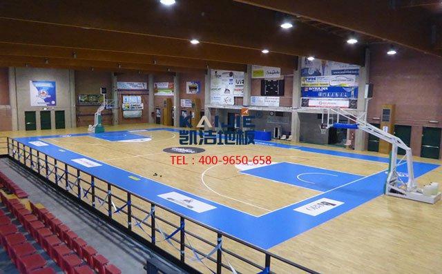 第六届中国运动木地板产业发展年会在京举行——篮球馆木地板