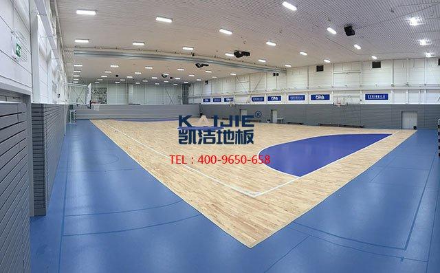 体育馆木地板怎么选择色彩漆搭配更合适——凯洁地板