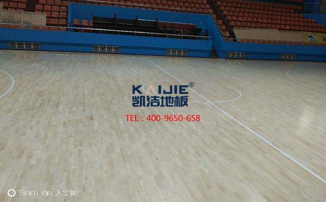 体育馆木地板原来是这样铺设的——凯洁地板