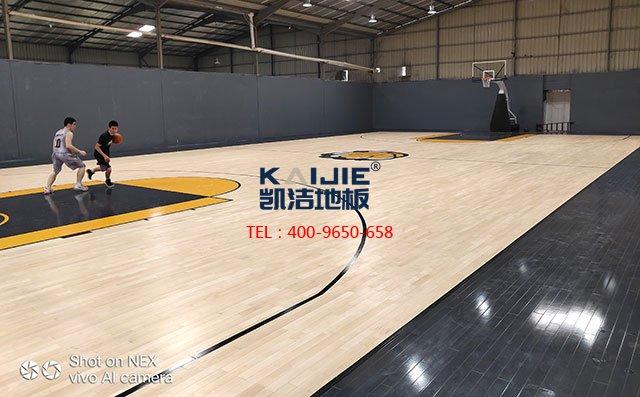 体育馆木地板接缝处如何处理好——凯洁地板