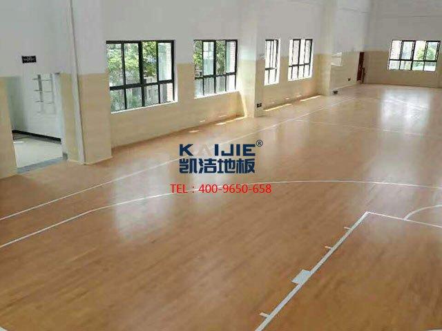 体育馆木地板安装前怎么勘察现场——凯洁地板