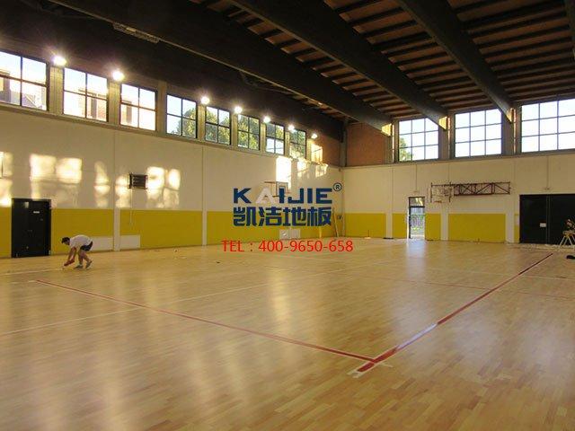 体育运动木地板如何保养呢——凯洁地板