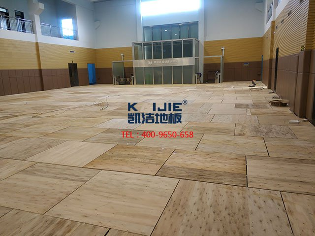 凯洁羽毛球馆木地板质量怎么样——凯洁地板