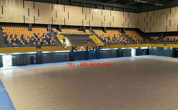 北京体育馆木地板厂家哪家好——凯洁地板