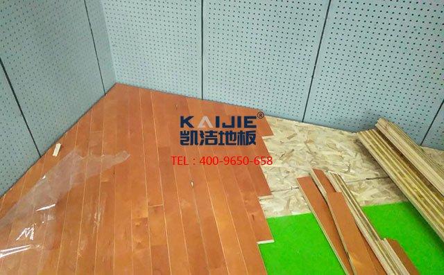 2019年北京凯洁体育地板开启新的征程——体育馆木地板