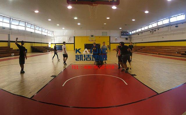 凯洁体育馆木地板的功效——凯洁地板