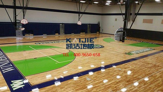 2019年体育馆地面材料木地板的行业现状——凯洁地板