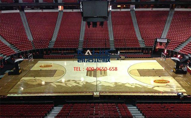 怎么选择一家好的体育馆木地板厂家——凯洁地板