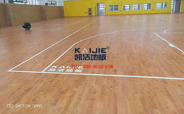 体育运动木地板有什么功能和结构——凯洁地板