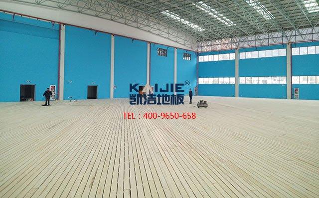 运动木地板厂家铺装是怎么施工的——体育馆木地板