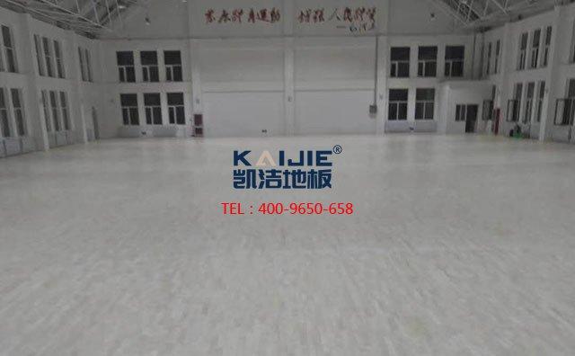 体育馆木地板受潮原因及怎么预防运动地板受潮——凯洁地板