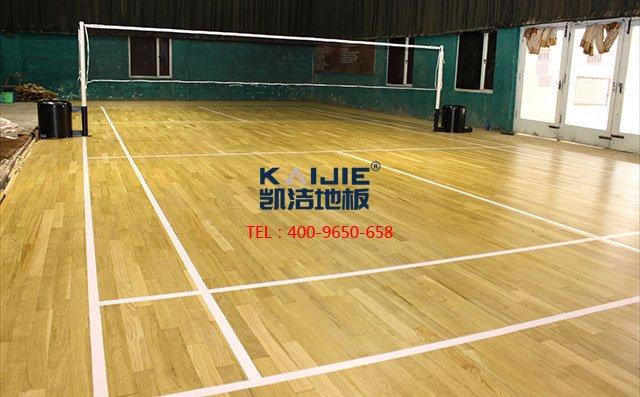 铺设体育馆木地板质量要求有哪些——凯洁地板