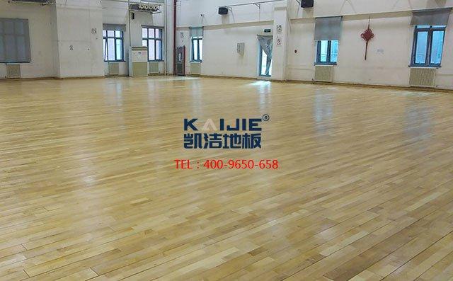 室内篮球场实木地板哪家好——体育馆木地板