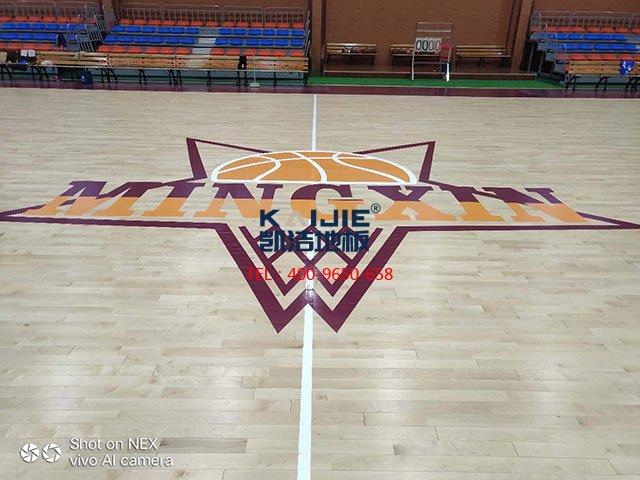 体育馆运动木地板有哪些品牌——凯洁地板
