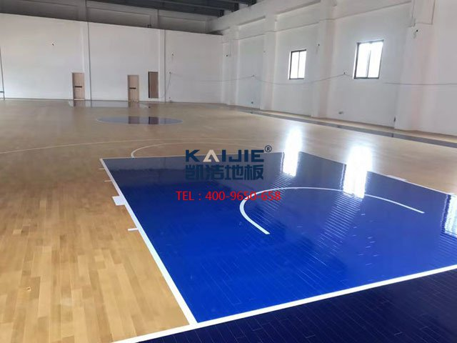 专业室内篮球场木地板尺寸标准是什么——凯洁地板