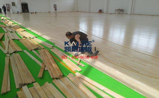 到哪里找正规的运动木地板厂家——凯洁地板