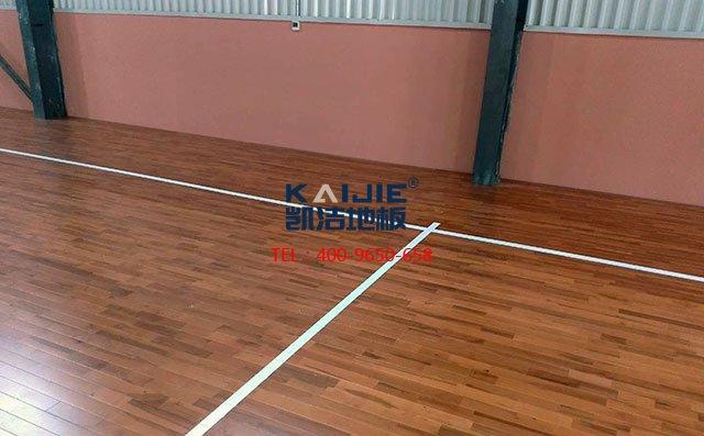 体育馆实木运动地板四大优异性能是什么——凯洁地板