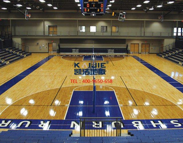 学校体育馆实木运动地板有哪些功能——凯洁地板