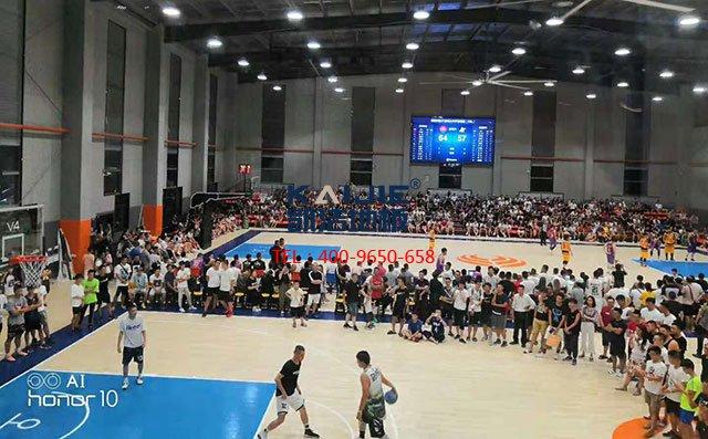 选购体育馆实木地板如何尽量避免色差——凯洁地板