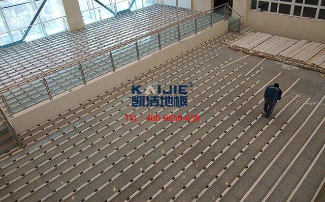 体育馆运动木地板施工有哪些设备——体育木地板