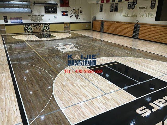 NBA篮球场木地板怎么维护——凯洁地板
