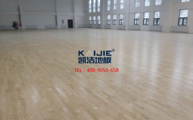 专业的体育运动木地板施工工艺——凯洁地板