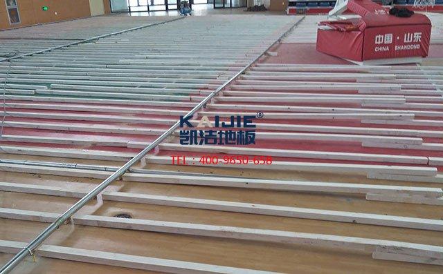 实木运动地板翻新施工方案——体育馆木地板